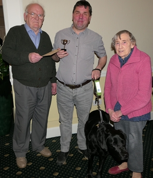 Open 1st place Ross with Gerry, Moira and Bovis